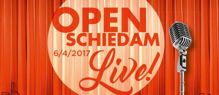 Succesvol evenement Open Schiedam Live!