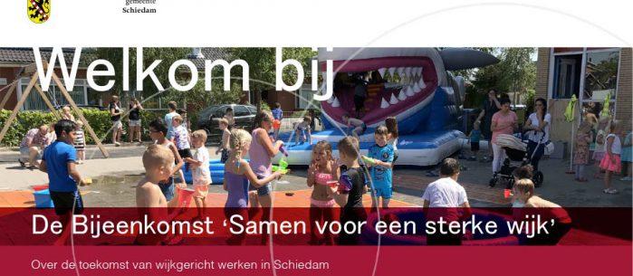 Evenement-organisatie voor Gemeente Schiedam