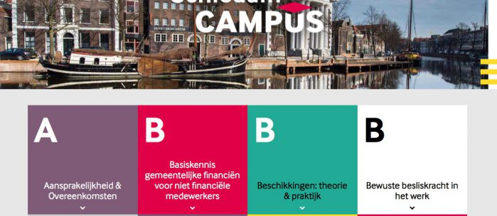 Website Schiedam Campus