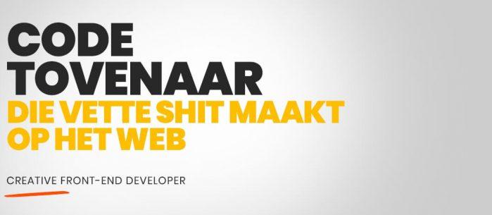 Creative Front-End Developer