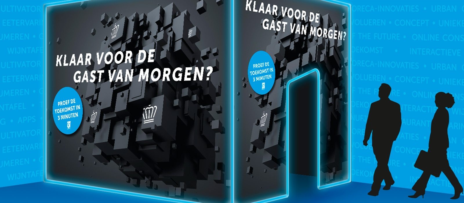 Beursstand met video • Koninklijke Horeca Nederland