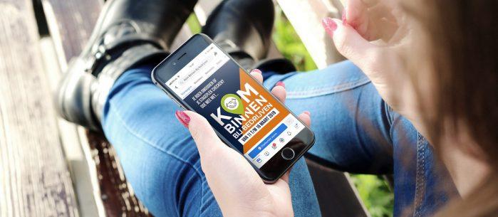 38% meer bezoekers dankzij social media campagne