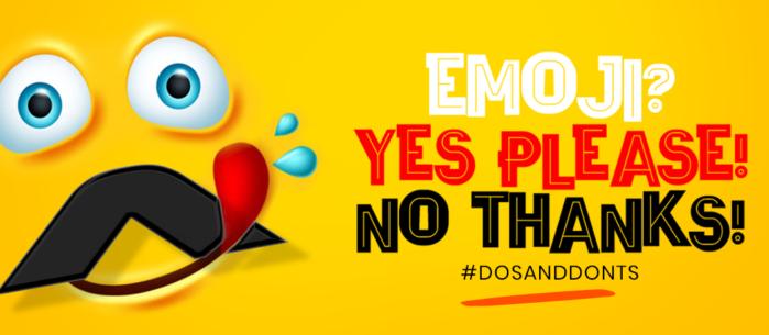 8 do's & dont's voor het gebruik van emoji's