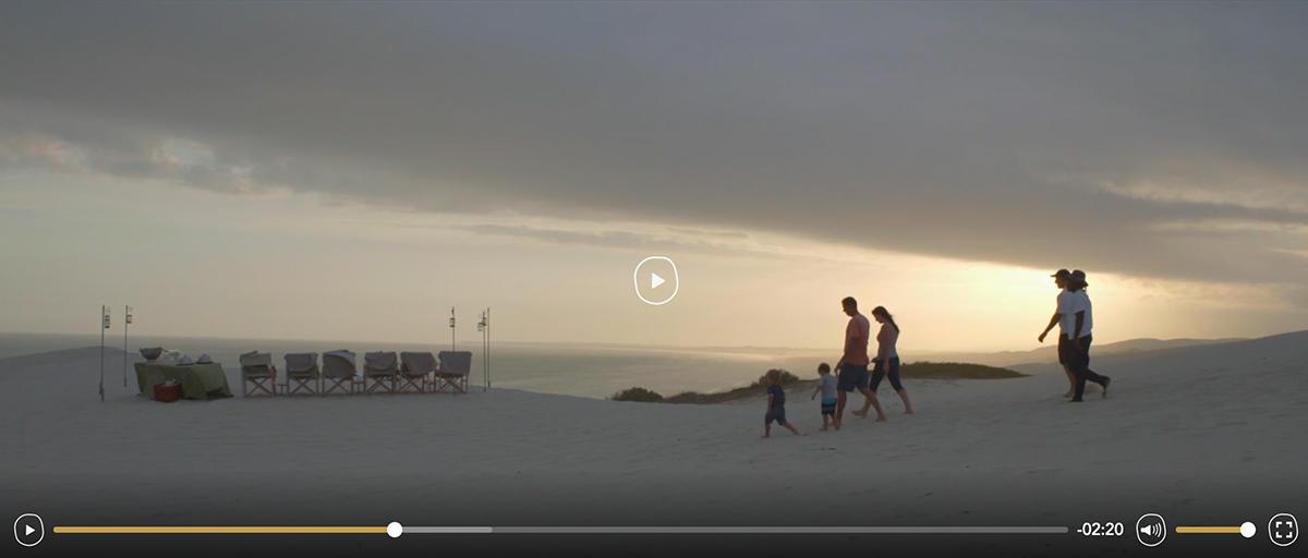 morukuru vimeo video met custom interface elementen