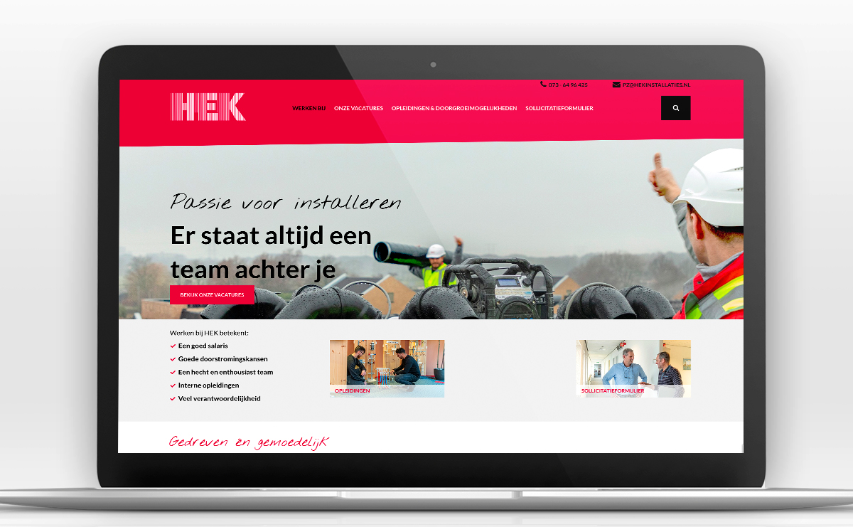 HEK website