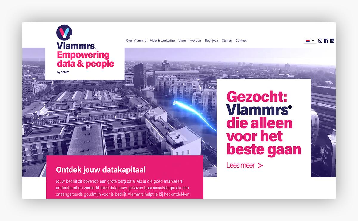 Vlammrs website & campagne