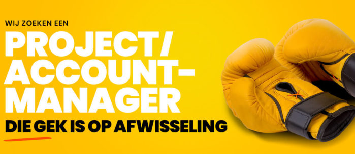 Project-/Accountmanager (32-40 uur)