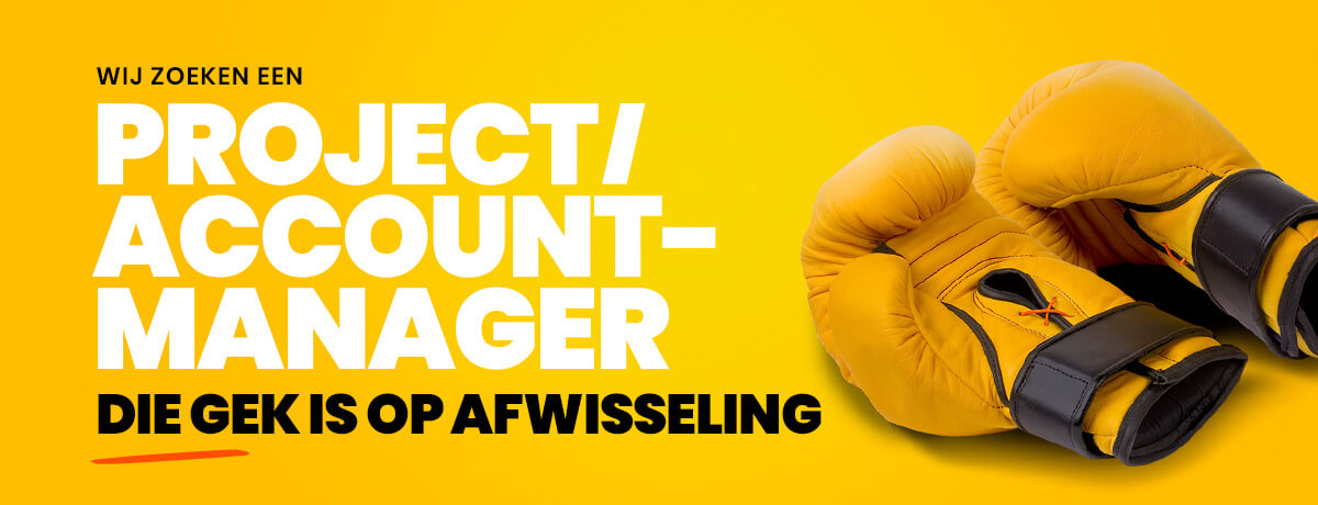 Vacature Project Account Manager